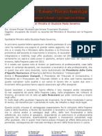 Lettera aperta al Ministro Severino dai tirocinanti-precari della Giustizia