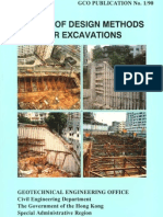 Review on Design Method for Excavation