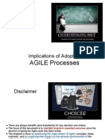 Implications of Adopting Agile Processes