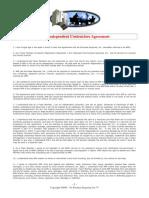 npr independant contractors agreement updated 052712