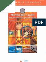 Microbiologie Et Qualite Dans Les Industries Agroalimentaires - Nouvellebiblio.com -1