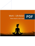Work – Life Balance - final