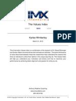values-karlee wimberley
