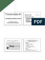 EQUIPAMENTOS_Definição e Funções