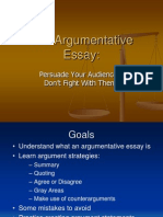 Kayleen Workshop Argumentative Essay