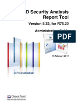 CP 3D Security Analysis Report Tool Admin Guide Ver8.32