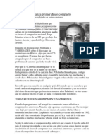 Jorge Paladino Lanza Primer Disco Compacto