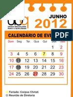 calendário a partir de junho