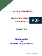 Las Medidas de Superficie Tercer Ciclo.