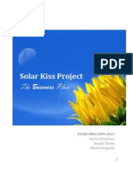 Solar Kiss Business Plan Version _ FINAL