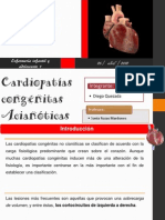 Cardiopatias congénitas no cianoticas