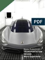 Master Ma Transportation Design Brochure