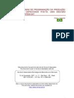 Sistemas de Programacao Da Producao - Fgv-Rae