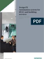 Desigo PX - CM110756en - Systeem Overzicht