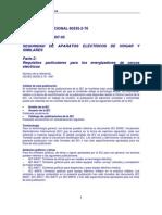Normativa Cerco Electrico IEC 60335 2 76