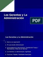 Unidad I Los Gerentes y La Administración