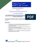 Congreso de Ed. y TIC La Escuela Del Futuro
