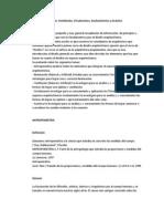 Antropometría, Iluminación, Ventilación, Circulaciones, Asoleamientos y Acústica
