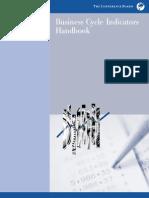 Business Cycle Indicators Handbook
