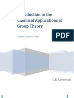 Group Theory - Lecture Notes