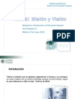 Mision y Vision Ppt