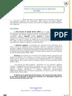 Caracteristicas e instrucciones de aplicación MMSE