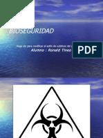 Bioseguridad Ronald Tineo