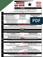 Cronograma 4to Foro Nacional de Educación Para el Cambio Social