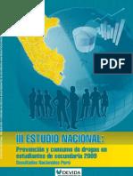 III Estudio Nacionales Escolares 2009