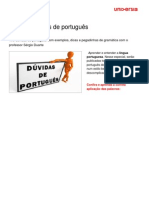 Duvidas e Dicas Portugues