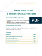 e Commerce Regulations
