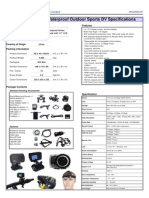 Specifications of GQ-HD11 R5