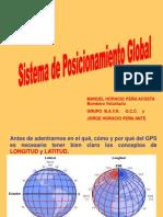 Sistema de Posisiconamiento Global- GPS