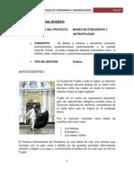 Informe - Museo de Etnografia y Antropologia