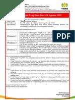Promosi Pupuk Feng Shou June s/d Agustus 2012