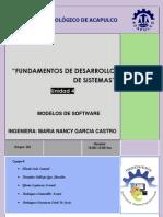 Unidad 4 Modelos de Software