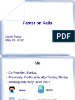 Faster on Rails