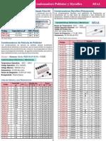 Condesadores-Poliester-Styroflex