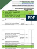 Informe Semana de 07 Al 11 de Mayo Certifciacion de Region v 2012