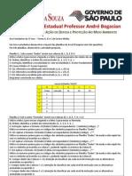Atividade Excel Para Projetos ETEC PAB