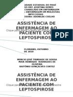 ASSISTÊNCIA DE ENFERMAGEM AO PACIENTE COM LEPTOSPIROSE