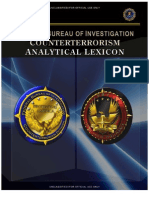 FBI Counter Terrorism Analytical Lexicon Ct.