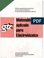 a Aplicada Para Electrotecnia EJERCICIOS