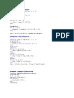 Program as Matlab