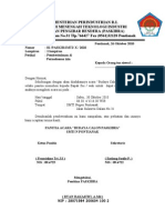 Surat izin paskibra