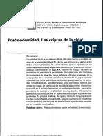 Postmodern Id Ad, Cripta de La Vida