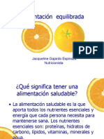 PPT alimentacion equilibrada