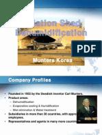 Aviation Shed Dehumidification