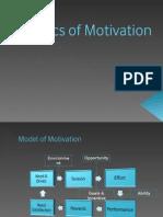 Basics of Motivation