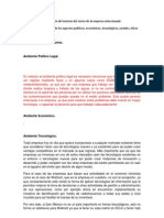 3.1 analisis entorno